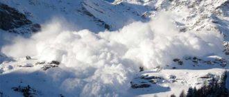 Sapņu tulks sniega lavīna