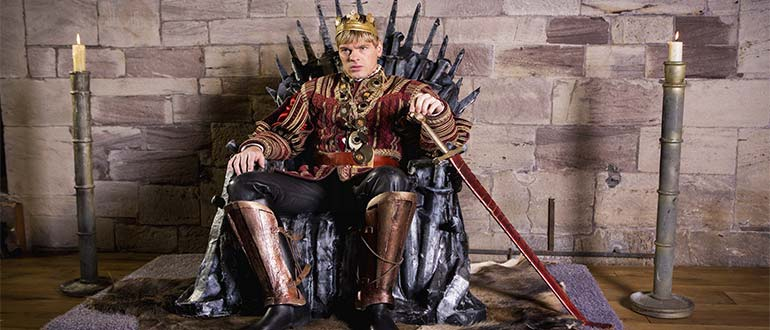 Sapņu tulks tronis