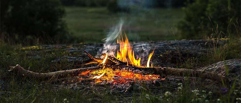 Sapņu tulks ugunskurs